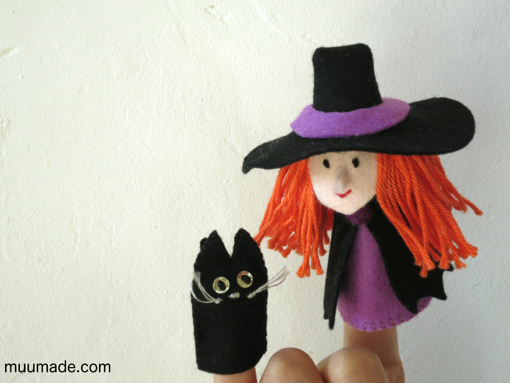 Witch-Cat-Finger-Puppets