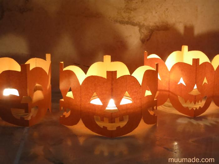 Halloween Paper Chains Muumade