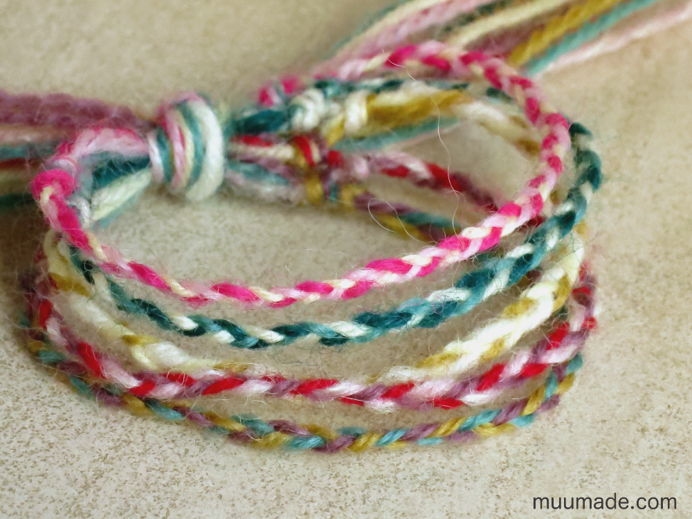 DIY beautifully braided friendship bracelet