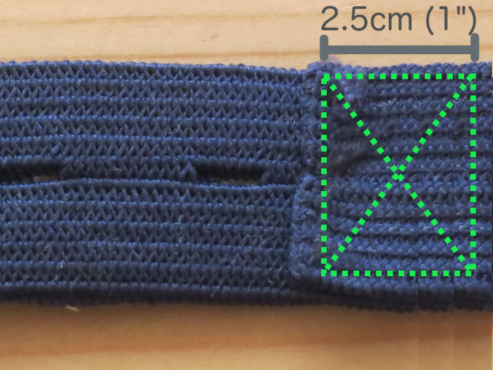 Taking in the Already Adjustable Waist of children's pants - extending the length of the elastic