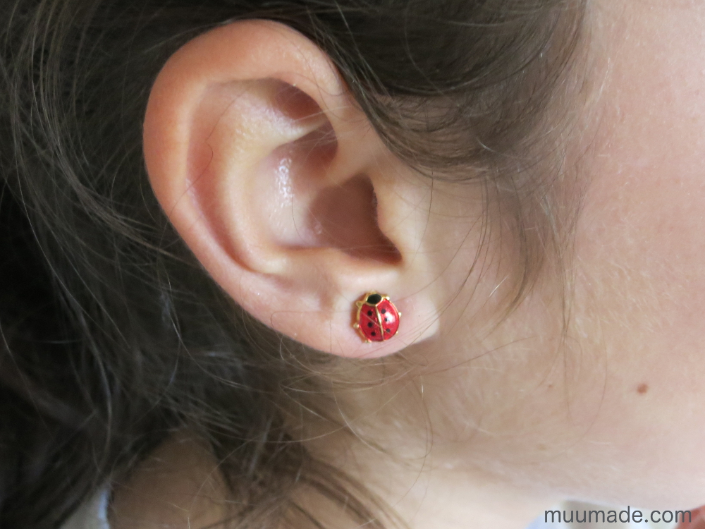 Converting Clip Earrings to Stud Earrings