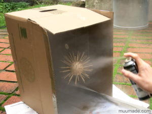 DIY Bright Star Ornament