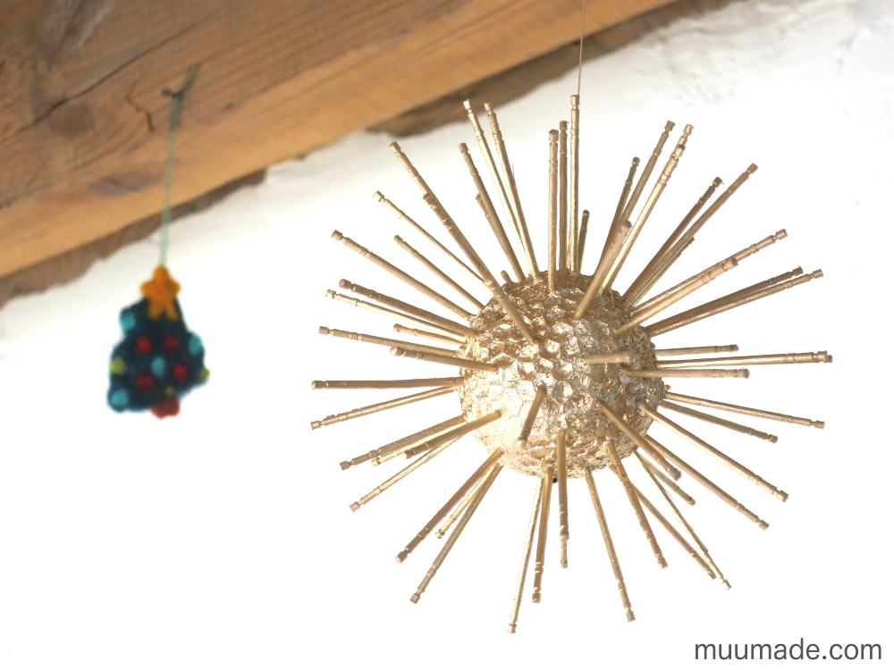 DIY Bright Star Ornament