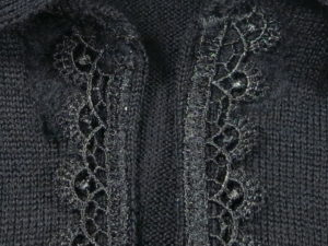 Fixing a Cardigan with Rips around Snap Fasteners