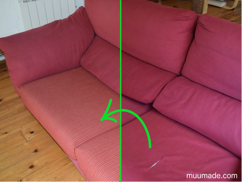 How to Reupholster Seat Cushion Covers to Reupholster a Couch