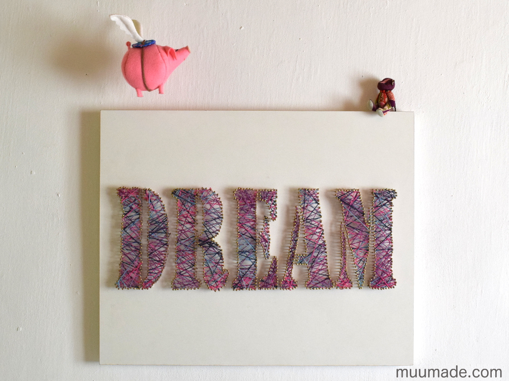 How to make String Art - To do's and not to do's DREAM Muumade