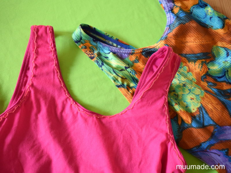 How to add a lining to a leotard or swimsuit