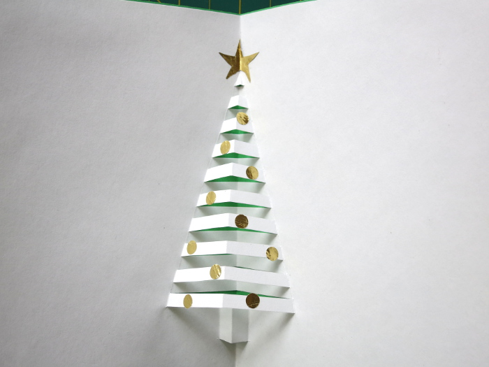 How to make a pop up christmas tree card muumade how to make a pop up christmas tree card solutioingenieria Gallery
