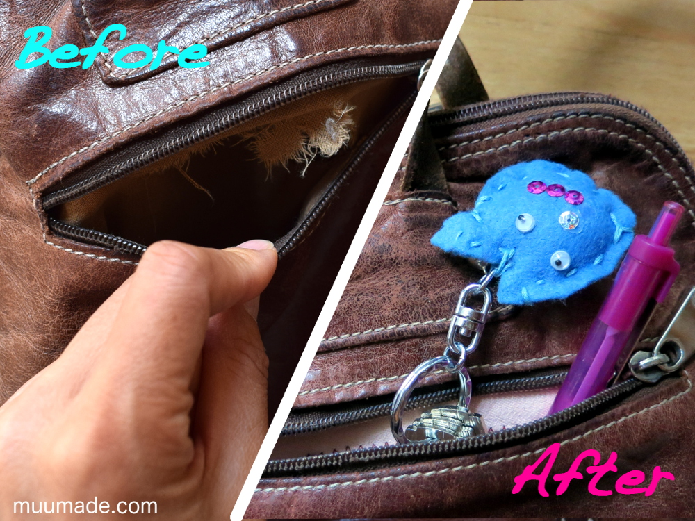 How to fix bag lining and pockets - muumade.com