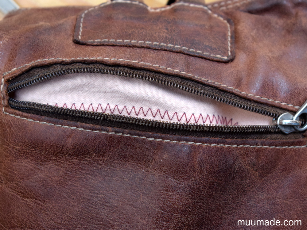 How to fix bag lining and inner pockets