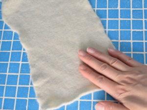 Fulling wool by hand - Muumade.com