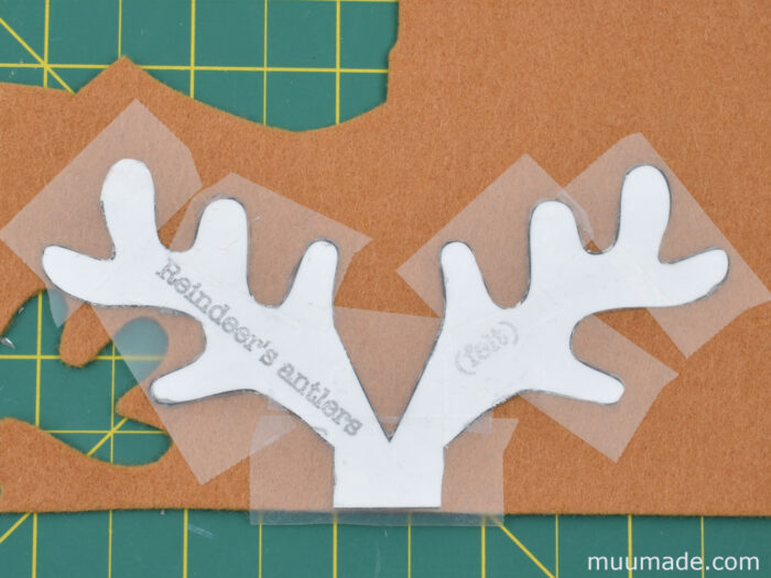 how to cut out patterns from felt